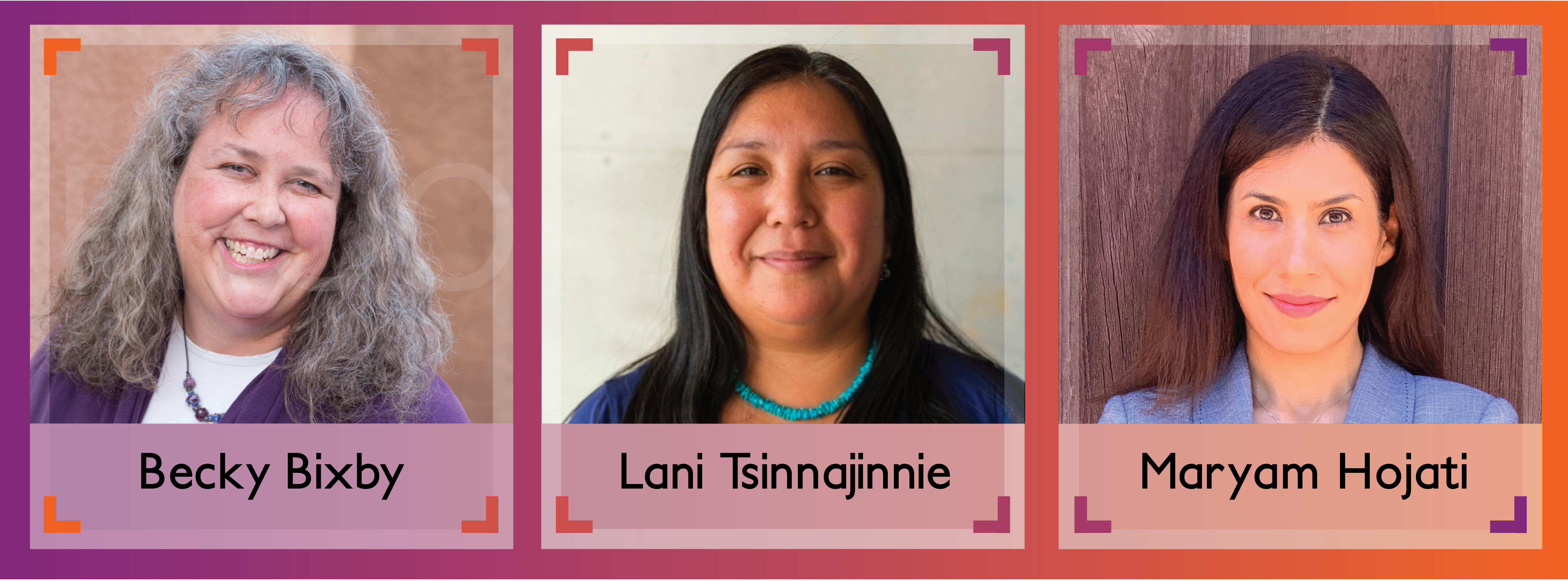 Banner with headshots of the three female NM EPSCoR alumni selected for 2020 Women in STEM awards